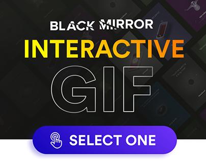 Black Mirror 🔥 Iteractive GIF 🔥 Bandersnatch & S4