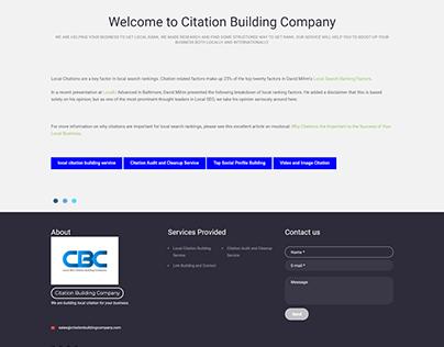 CITATION BUILDING COMPANY