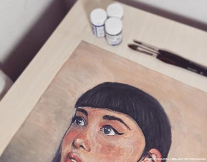 Pintura Manual em Gouache