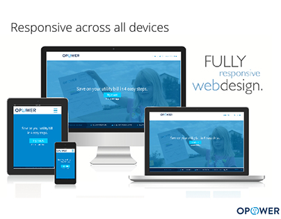 Opower Fully Responsive web design and UX process