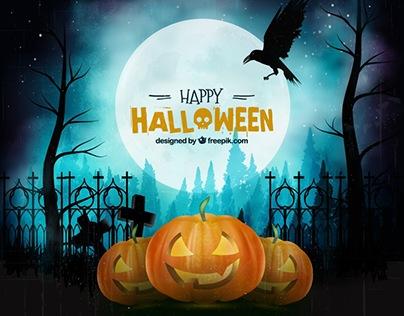 Dark Halloween Backgrounds - Vector Free for Freepik