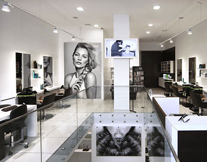 Furniture and Interior Design in Beauty  Salons