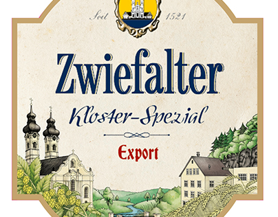 Zwiefalter label / packaging design