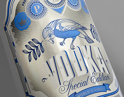 Luxoro – Vodka (Concept Label)
