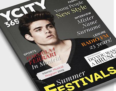 YCity365 Full Magazine Template