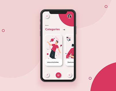 Neumorphic UI UX - Mobile App Design