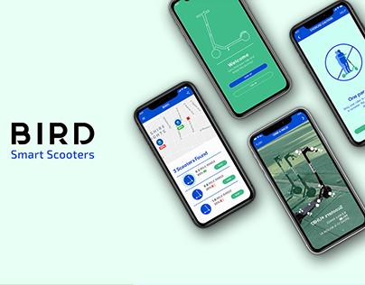Bird Smart Scooters - App Rebranding
