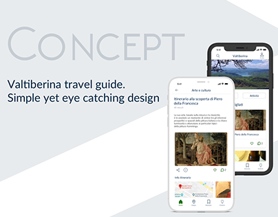 Valtiberina travel guide app