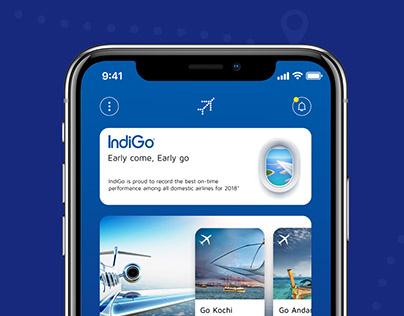 IndiGo Flight APP