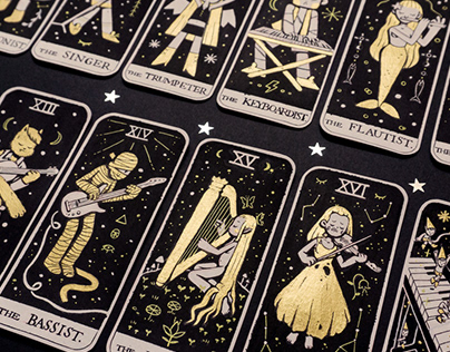 TAROT in treble clef original deck
