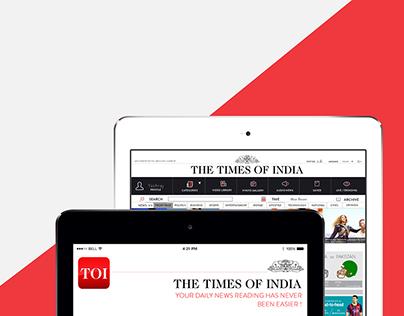 TOI News App : UX