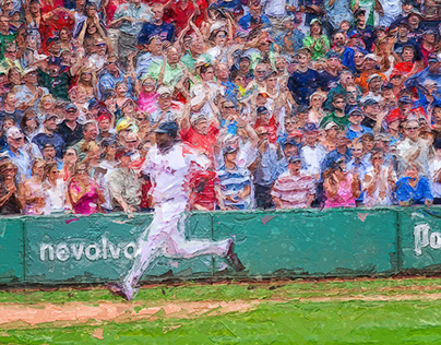 Paint from Fenway