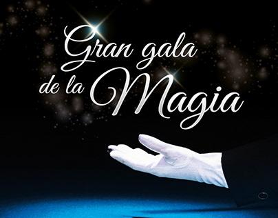 Cartel Gala Magia / Magic Gala Poster