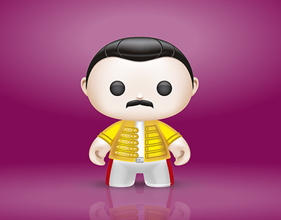 3D ART - FREDDIE MERCURY