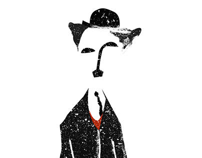 Charlie Chaplin - Digital Illustration & Concepts