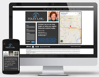Foley Law Firm Website Design
