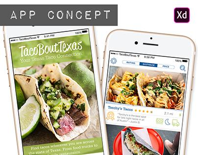 TacoBoutTexas - App