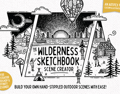 The Wilderness Sketchbook - Scene Creator