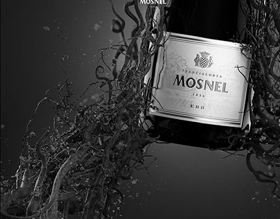 Mosnel Franciacorta 1836 Premium Wine | CGI Advertising