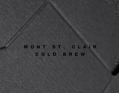 MONT ST. CLAIR COLD BREW PACKAGE