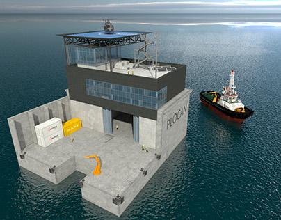 PLOCAN 3D Plataforma marítima