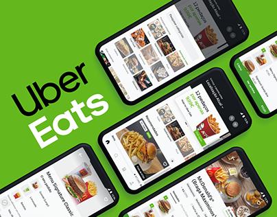 Uber Eats — App Redesign