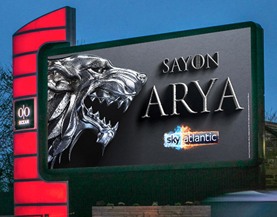 Game of Thrones - Digital OOH farewell campaign