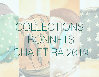PHOTOS POUR LA COLLECTION DE BONNETS ENTRE CHA&RA