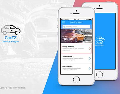 UX/UI Design For Car Services App