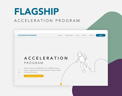 Acceleration Program Landing Page