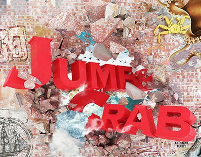 Jumbo Crab Wallgraphic (CGI)