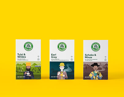 Lebensbaum – Wanderlust Organic Tea Packaging