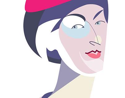 Panivalkova portrait