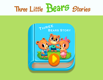 《Tree Little Bears Stoies》绘本