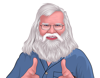 DJ Grandfather Portrait