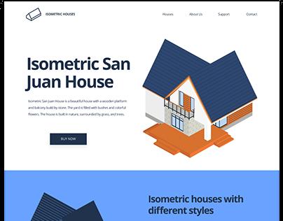 Isometric San Juan House