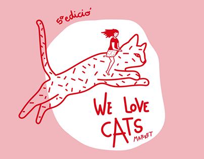 Gráfica 5º edición del We Love Cats Market