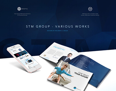 STM Group / Web, Editorial & Branding