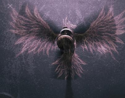 Overlay (Ceiling fan; phoenix bird)