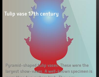 Study User interface Dutch Tulip Vase