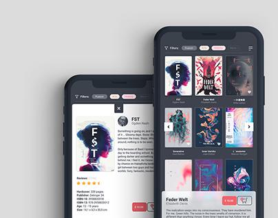 UI Design - BookShop