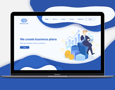 Landing page business plans