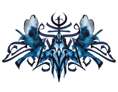Rorschach Calligraphy «BESTIARY»