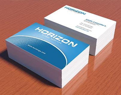 Logo y Tarjetas de Presentación de Horizon Global