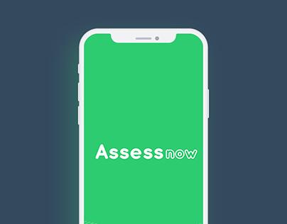 AssessNow IOS App UI UX