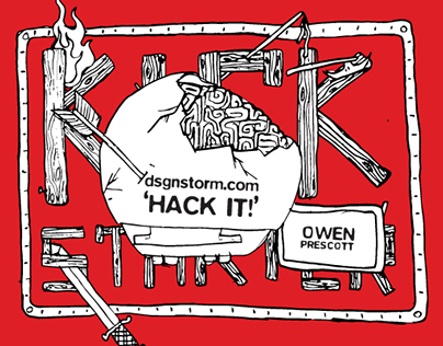 Hack It! [Kickstarter Project] / dsgnstorm.com