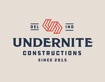 Undernite Construction - Brand Identity