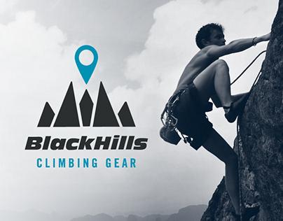 Blackhills Mountain Climbing Gear - Identity & Branding