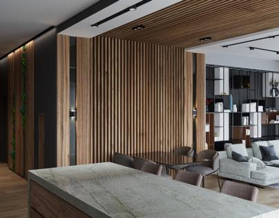 Wood mood house