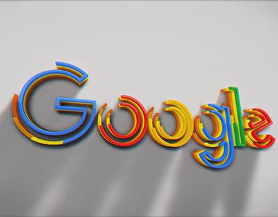3D Google Intro Animation